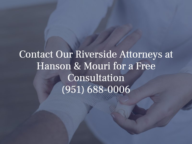 contact our Riverside attorneys