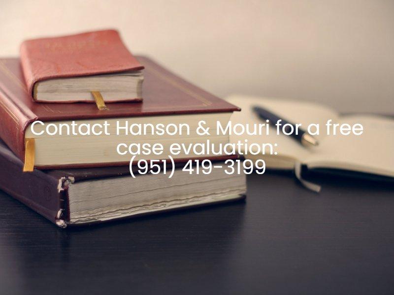 contact hanson & mouri free case evaluation